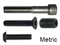 Socket Cap Screw, METRIC Alloy