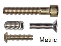 Socket Screw, METRIC Stainless
