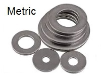 Washers, METRIC Stainless